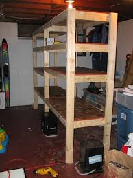 Simple Free Standing Shelf Plans by 25 Best Basement Shelving Ideas On Pinterest Basement Storage