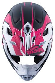 white motocross helmets msr sc 1 score helmet revzilla