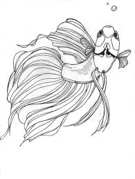 betta fish coloring page fish coloring pages betta fish coloring