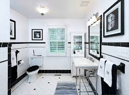 Bathroom Floor Design Ideas by Black And White Bathroom Floor Tile Ideas Pictures