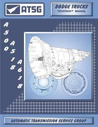 amazon com atsg chrysler a500 518 618 techtran manual atsg