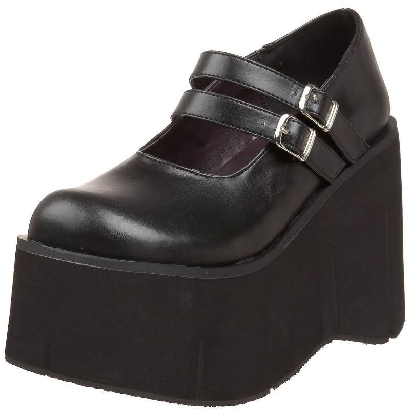 "Kera-08, 4 1/2"" PF Double Strap Shoe"