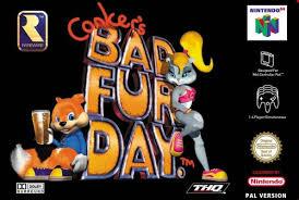 Descarga Conker's Bad Fur Day  para Nintendo 64 Images?q=tbn:ANd9GcTd8mzzZ1-SFsUabwsD_i2DNXdBjfRuljwWXhbCl6H99Q8vQpk&t=1&usg=__qeLtxv8LpwYmLsVm2-YI4W6zFi8=