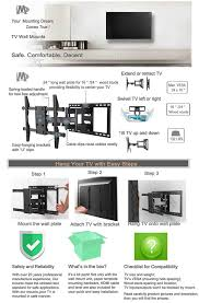 How Much To Wall Mount A Tv Amazon Com Mounting Dream Md2298 Premium Tv Wall Mount Bracket