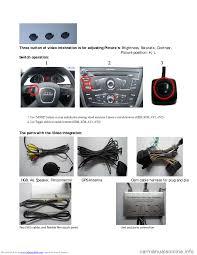 audi a4 2008 b8 4 g navigation system instalation manual