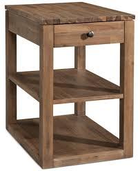 champagne cube end table created for macy u0027s furniture macy u0027s