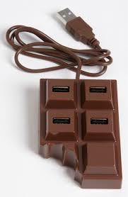a cool gadget u2013 chocolate usb hub