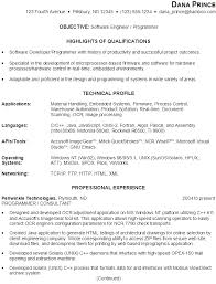 Resumes For Jobs Examples by Sample Resume For Someone Seeking A Job As A Software Engineer