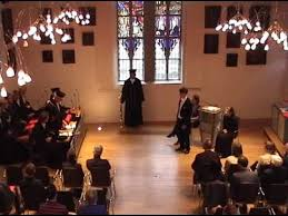 PhD Defense Roland van der Veen Part   Dance and Ceremony  YouTube
