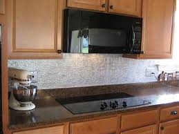 Kitchen  Aspect Peel And Stick Stone Tiles Lowes Backsplash Metal - White tin backsplash