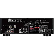home theater receiver hdmi yamaha rx v383 5 1 channel home theater receiver with bluetooth