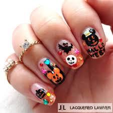 lacquered lawyer nail art blog disney halloween