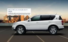 ssangyong mahindra rexton luxury suv in india