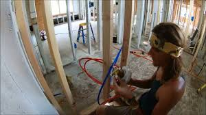 Plumbing A Tub  Shower Rough In How To YouTube - Plumbing for bathroom