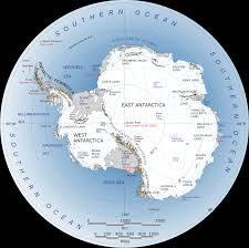 Tectonic Plate Map The Antarctic Region
