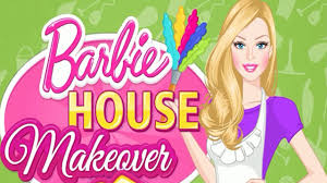 Home Decoration Games Barbie House Makeover Episode Full Clean U0026 Decorate Game For
