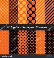 halloween pixel backgrounds halloween orange black jumbo polka dot stock vector 154777550