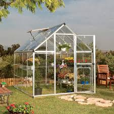 A Frame House Kit Harmony 6 U0027 X 8 U0027 Greenhouse With Starter Kit