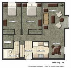 small apartment floor plans