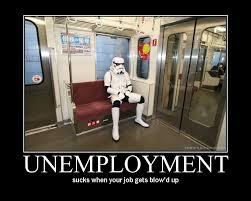 写真:失業中