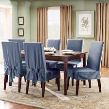 blue dining room chair covers dining chairs design ideas