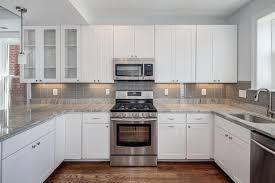 Beautiful White Kitchen Designs Photo Gallery Small Home Design - White kitchen backsplash ideas