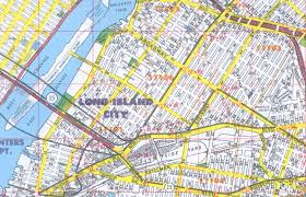 Ny County Map Neighborhood Street Maps Queens County Ny