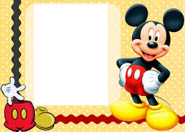 Free Printable Birthday Invitation Cards With Photo Mickey Mouse Clubhouse Invitation Template Free Download
