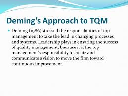 History of Total Quality Management  TQM        Objectives of the Research   Diabetes Center