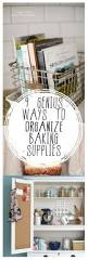 Cheap Kitchen Organization Ideas Best 25 Baking Organization Ideas On Pinterest Baking Storage