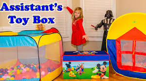 Minnie Mouse Toy Box Surprise Toy Box The Assistant Surprise Mickey Mouse Blaze