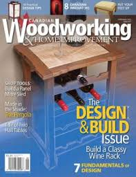 Canadian Woodworking Magazine by