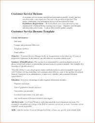 Resume Summary Examples Customer Service by 100 Resume Summary For Customer Service Resume Examples