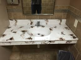 not exactly the color pattern you like to see in a bathroom imgur