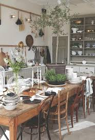Rustic Modern Dining Room Tables by Best 25 Dining Table Settings Ideas On Pinterest Small Dining