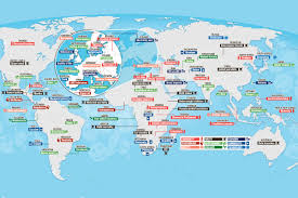 Pakistan On The Map Map Shows What Every Country In The World Is U0027best U0027 At And