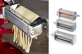 Kitchen Aid Pasta Maker by Kitchenaid Pasta Roller And Cutter Set Bonjourlife
