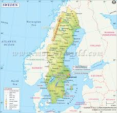 Show Me A Map Of The Middle East by Map Of Sweden