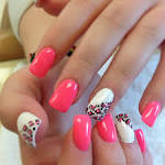 french tip acrylic nail designs | Nail Art Design