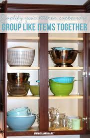 How To Organize Your Kitchen Cabinets by Simple Ways To Organize Kitchen Cupboards Clean Mama