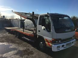 isuzu nqr 7 5 twin deck car transporter in doncaster south