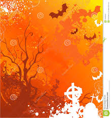 orange background on halloween stock images image 16455094