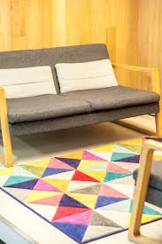 Funky Rugs Star Tips How I Added Pops Of Colour To Revamp A White Office