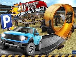 monster trucks nitro 2 hacked 3d monster truck parking game android apps on google play