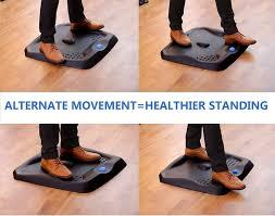 Standing Desk Mats by Licloud Standing Desk Mat Ergonomic Anti Fatigue Comfort Floor Mat