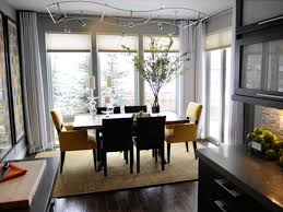 Contemporary Dining Room Table by Dining Room Modern Integrated Dining Room Ceiling Decor Idea