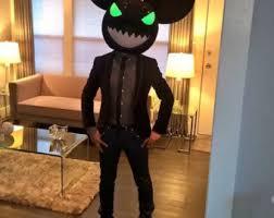 Deadmau5 Costume Halloween Red Deadmouse Inspired Deadmau5 Head Halloween Cosplay