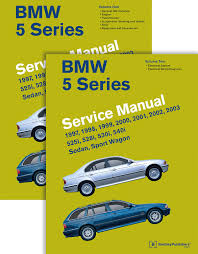 bmw 5 series 2 vol e39 service manual 1997 1998 1999 2000