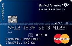 Small Business Secured Credit Card Secured Business Credit Card Bank Of America