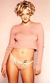 Celebrity Tattoo - Drew Barrymore